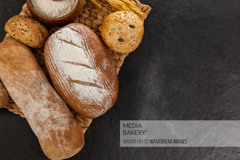 Various bread loaves
