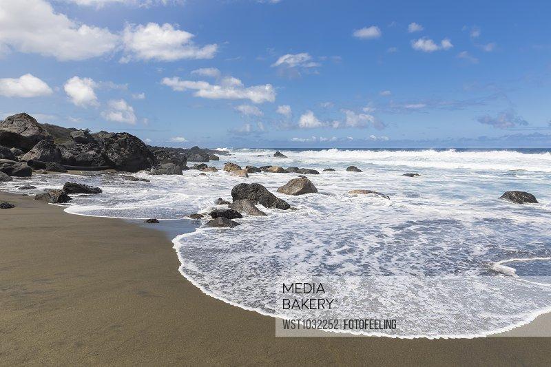 Reunion, West Coast, beach