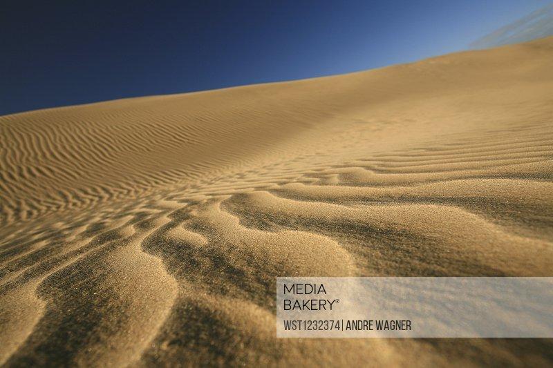 New Zealand, Desert scenery, dunes