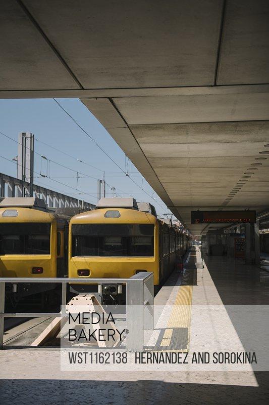 Train station, Lisbon, Portugal