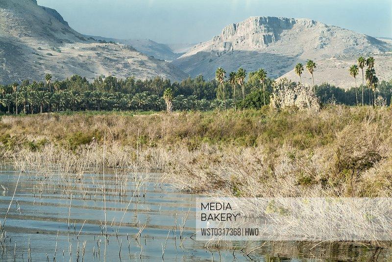 Israel west shore of Sea of Galilee