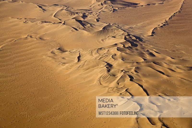 Africa, Namibia, Desert Landscape, Aerial view