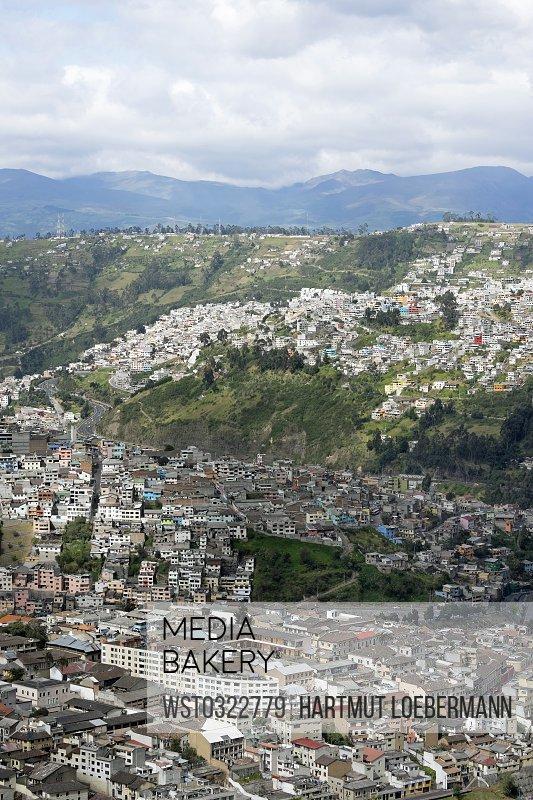 Ecuador, Quito, cityscape