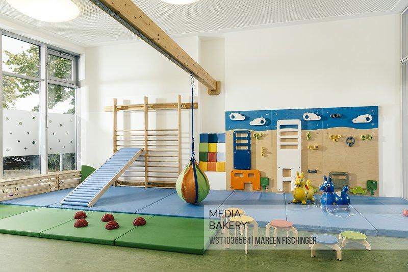 Mediabakery photo by westend empty gym room in kindergarten