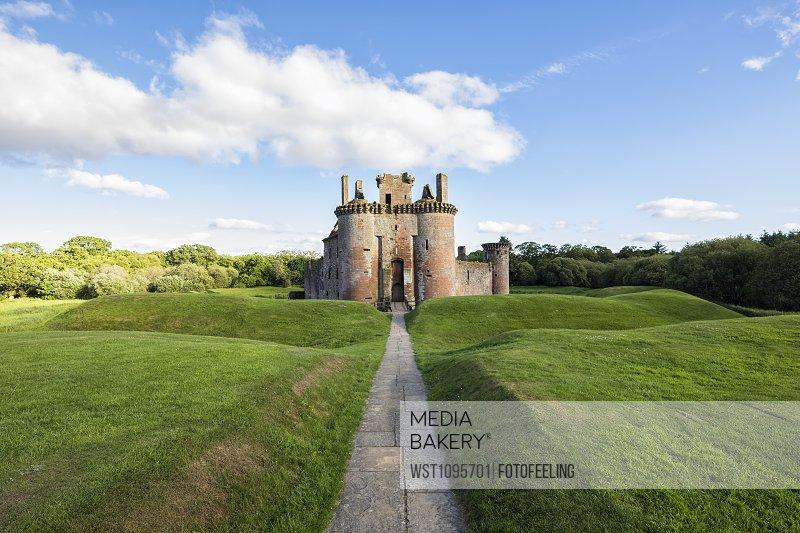 Great Britain, Scotland, Dumfries and Galloway, Caerlaverock Castle